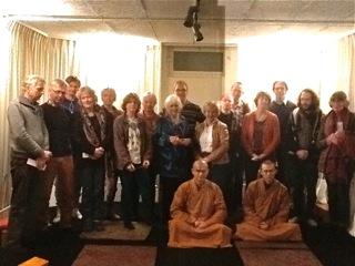De twee Chinese monniken bij de Zengroep Hengelo