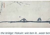Hakuin, blind men crossing the bridge