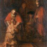 Terugkomst verloren zoon, Rembrandt _2